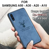 Case Samsung A50 - A30 - A20 - A10 softcase casing cover levis DEER
