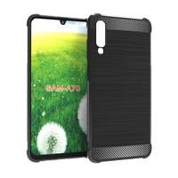 Samsung A70 Case Premium Carbon Fiber Case Samsung A70 Softcase