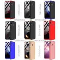 Samsung M20 360 protection slim matte case - all color