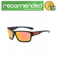 DUBERY Kacamata Pria Polarized Sunglasses - 2071 - Hitam Gold