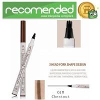 Mking Pretty Pensil Alis Anti Keringat Waterproof - GZZZ - Brown