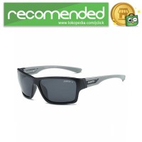 DUBERY Kacamata Pria Polarized Sunglasses - 2071 - Hitam Gray