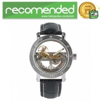 YISUYA Jam Tangan Analog Pria Mechanical Hollow Design - W188501 - Hi