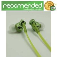 Phrodi 008 Deep Bass Earphone - POD-008 (NO BOX) - Hijau