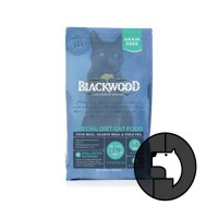 blackwood 1.82 kg cat duck meal. salmon meal and field pea