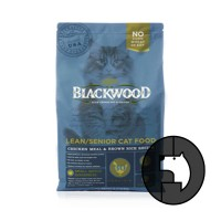 blackwood 1.82 kg cat lean/senior cat food