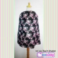 Nursing Cover Apron Penutup Celemek Menyusui Ecokiddy - Black Shabby