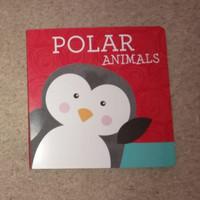 Polar Animals - Buku Anak Bayi Board Book