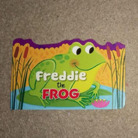 Freddie The Frog - Buku Anak Bayi Board Book