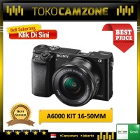 Sony Alpha A6000 Kit 16-50mm Resmi