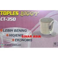 Toples Tabung Makanan Lebaran Plastik 1Kg Biggy CT-350 -By Gosend/Grab