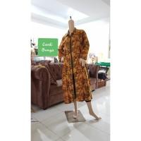 Gamis Batik kimono / Dress Batik KIMONO Vanessa / Gamis Batik sogan