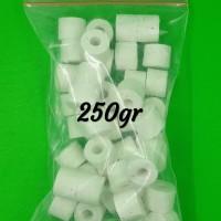 Bio Keramik Ring Filter Aquarium Repack 250 Gram