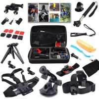 Limited 15 in1 camera Accessories Kit for Go pro Hero 4 3+ Mount for X