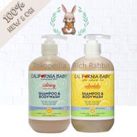 California Baby Shampoo Body Wash Calming Calendula Shampo Sabun Bayi