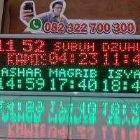 ! PROMO Jam Masjid GPS, jadwal sholat digital satelit, in bluetooth HP