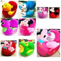 Sofa Odong Boneka Mickey Minnie Hello Kitty Doraemon Keropi Pooh murah