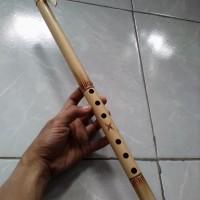 Suling bambu seruling sunda lubang 6