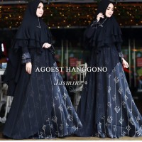 Jasmine 4 by Agoest Hanggono, Gamis Syari Original