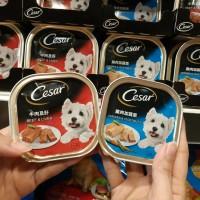 Makanan Basah Anjing 2 Varian rasa Cesar