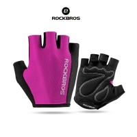 ROCKBROS S099 Bike Glove half Finger - Sarung Tangan Sepeda PINK