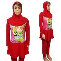 Baju Renang Anak 6-10 Th Muslim Karakter Frozen MLTG-K219