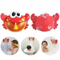 Mainan Bubble crab Kepiting Busa Mandi Anak bubble maker