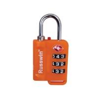 Gembok Russwin TSA Lock 21152 - Orange