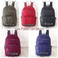 CB722 Backpack Women Import Tas Ransel CHIBAO Bordir