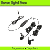 BOYA BY-M1DM Dual Head Microphone Audio Record