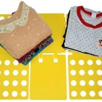 Alat Pelipat Perapih Baju Anak Cepat Lazy Magical Folding Board