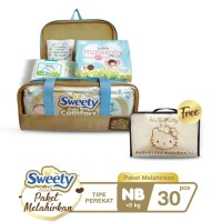 Sweety Gold Comfort Birth Package NB + Free Organizer Bag