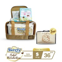 Sweety Gold Pants Birth Package S + Free Organizer Bag