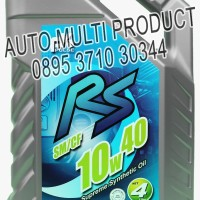 Oli, (Oli Fk Massimo Auto Oil Engine), PULSE RS SM/CF, 10W40, 4 Liter