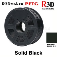 R3Dmaker Filamen 3D Printer Filament PETG Solid Black 1.75mm 1.0 kg