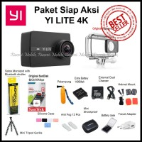 Paket Siap Aksi Xiaomi Yi Discovery Action Camera 4K
