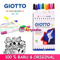 Giotto Turbo Dobble -10 Colors / Spidol Giotto