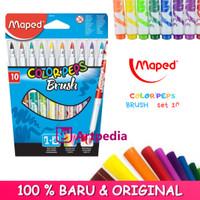Maped Color Peps Brush Tip Marker Set 10 - Brush Tip Maped