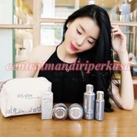 paket perawatan wajah alami MS Glow by Cantik Skincare cream set