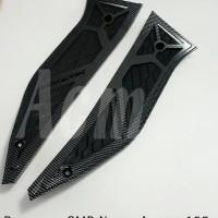 bordes Aerox 155 / alas pijakan kaki carbon nemo yamaha aerox155