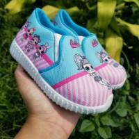 Sepatu Kets Anak LOL biru