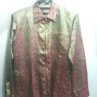 Jasket Batik Bunglon Pink Hijau