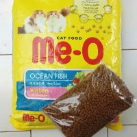 Pakan Kucing Me-o Meo Kitten Ocean fish Repack 1 Kg