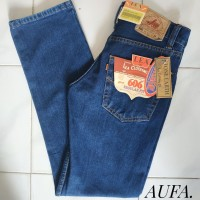 Celana Jeans Pria Lea Levis Wrangler Biowash Reguler Original Murah