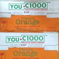 YOU C1000 Vitamin Orange / You C 1000 Jeruk - 140 ml