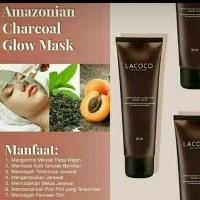 Pembersih Wajah Penghilang Komedo - Lacoco Amazonian charcoal Mask -
