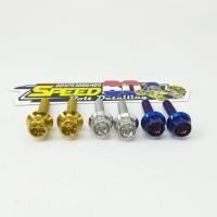 Baut Handle CRG Probolt Thailand Gold Blue Silver
