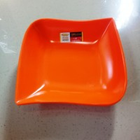 "Piring Ketupat 6"" Orange Melamine - Golden Dragon P2106"