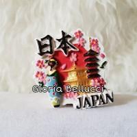 souvenir geisha japan magnet kulkas mancanegara maiko jepang 1