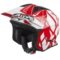 Airoh TRR S Convert Red Gloss Trial Helm